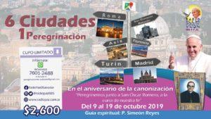 Radio Paz el salvador Peregrinacion 2019