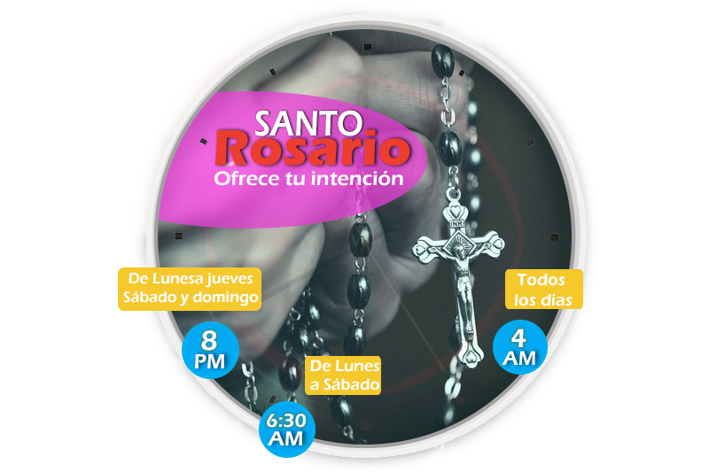 HORARIO DEL SANTO ROSARIO RADIO PAZ EL SALVADOR