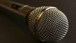 microfono de cabina y locutorio