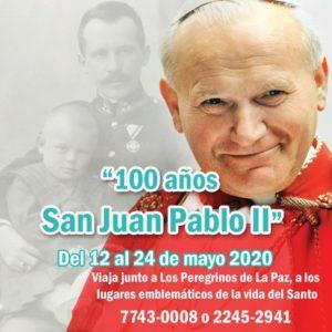 informacion peregrinacion de san juan pablo II radio paz el salvador